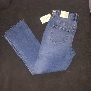 Blue jean ankle crop bootcut universal thread 2